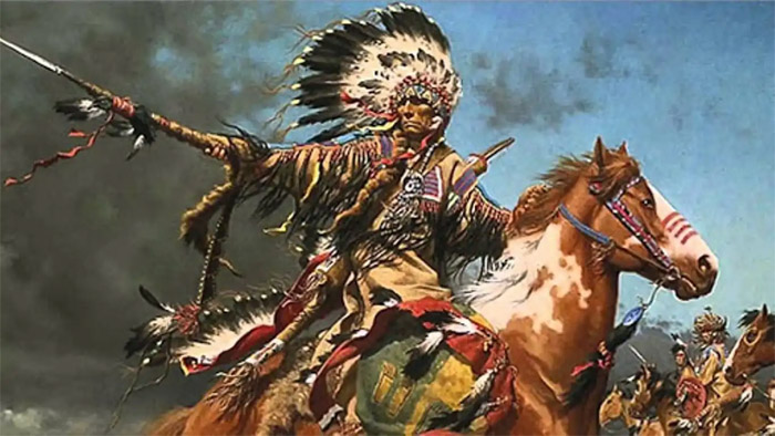 Текумсе – вождь индейцев, почитаемый в Америке за храбрость
