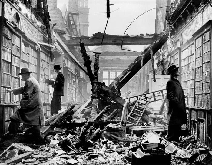 Разрушенная библиотека – еще не повод отказываться от чтения