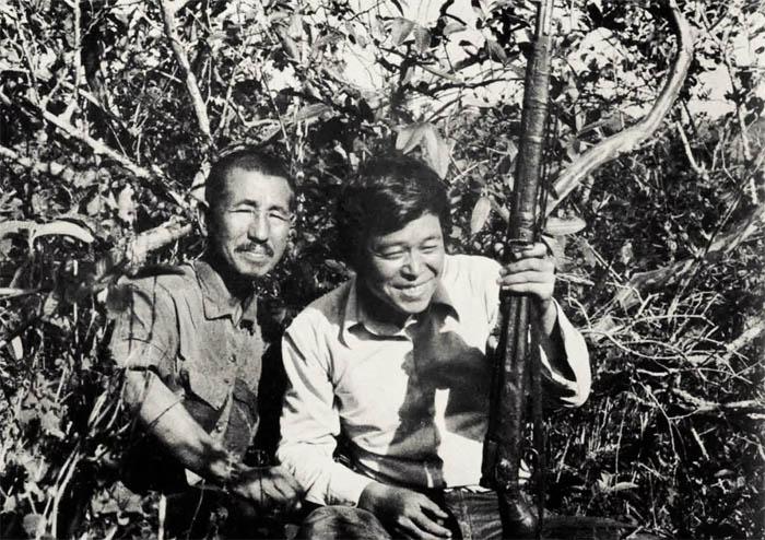 Онода Хироо и Норио Судзуки
