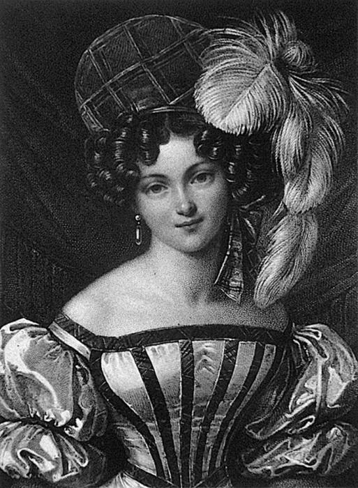 Генриетта Зонтаг, Франц Ксавер Штёбер, 1827