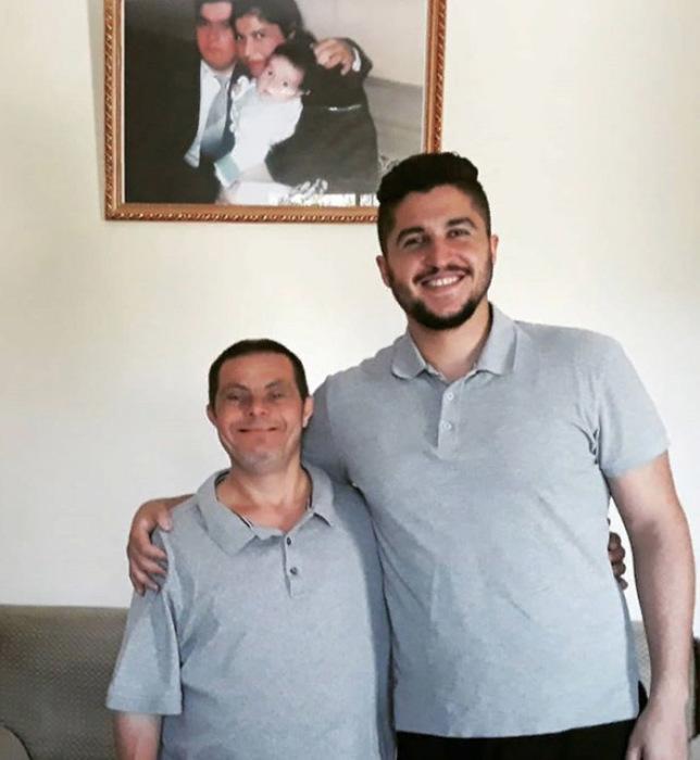 Садер Исса и его отец