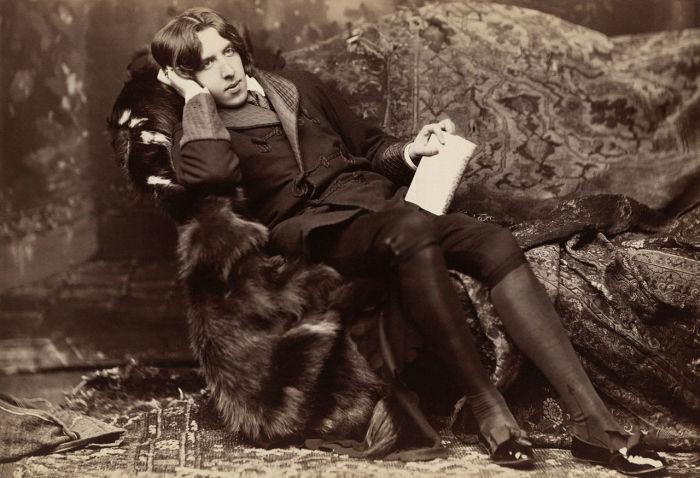 Оскар Уайльд. Фотография Наполеона Сарони (около 1882 года)