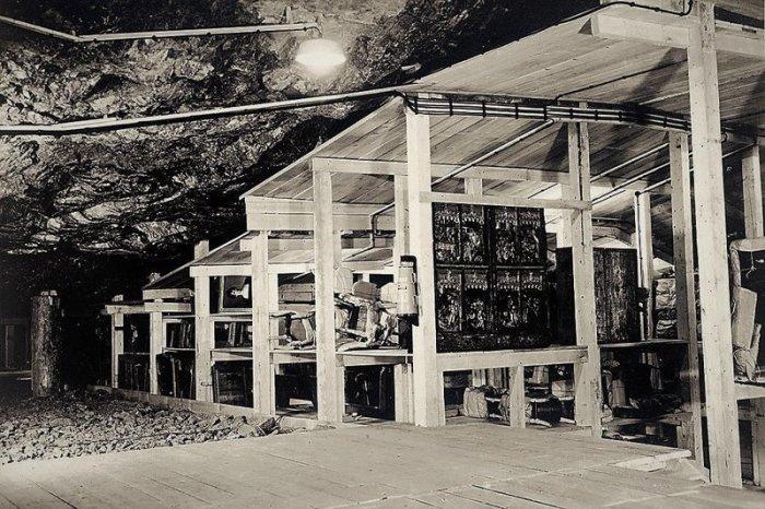 Коллекция предметов искусства в шахтах Альтаусзее, 1945 год
