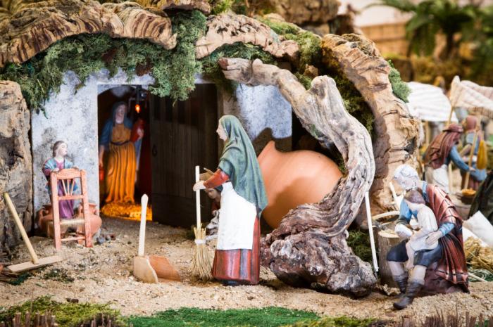 Рождественский вертеп в Испании