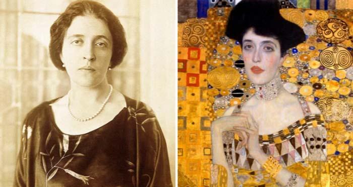 Адель Блох-Бауэр – богатая заказчица полотна и возможная романтическая привязанность Густава Климта
