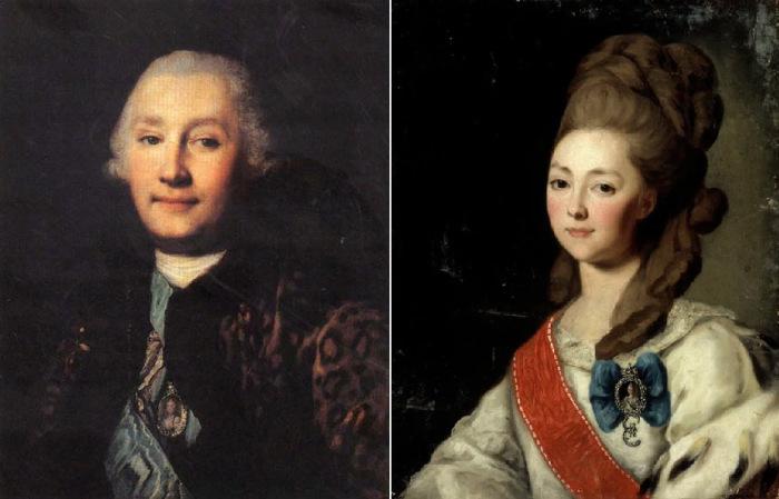 Екатерина и Григорий Орловы