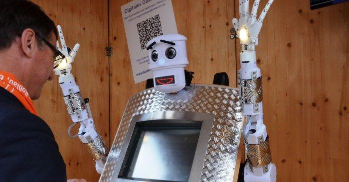 В Германии создали первого робота-проповедника