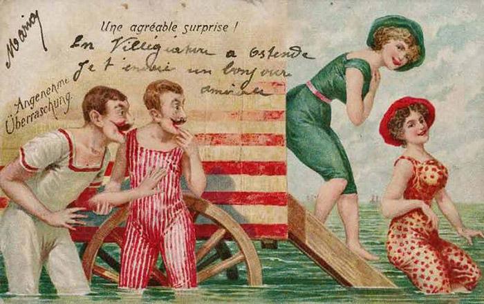 Вертепа своими, открытки конца 19-века