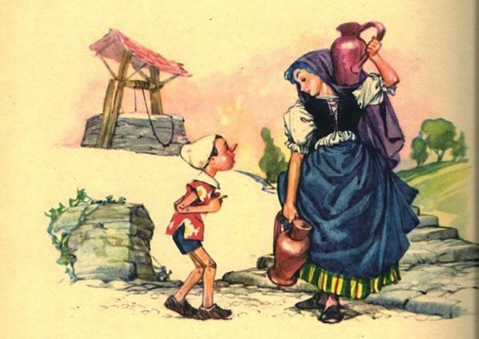 «Приключения Пиноккио», иллюстрации Либико Марайя