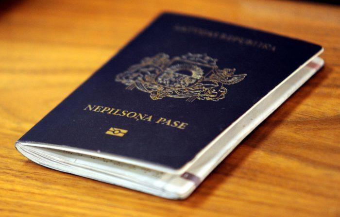 Прибалтийский документ для граждан с особым статусом
