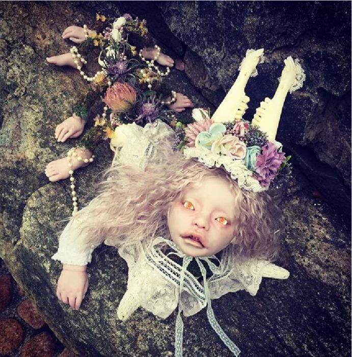 Авторская кукла Мидори Хаяси