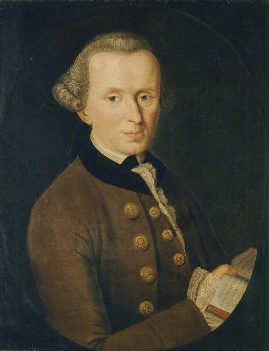 Иммануил Кант, Johann Gottlieb Becker (1768)