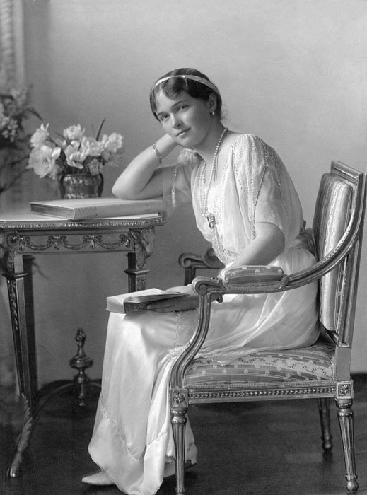 Великая Княжна Ольга Николаевна, 1914 год