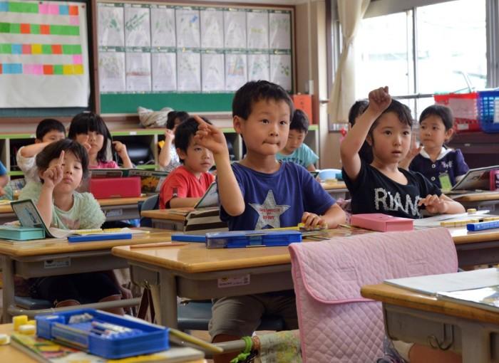 Учеба в Японии начинается в 6 лет