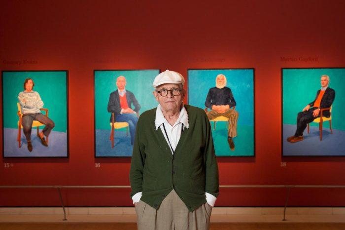 81-летний мастер и его полотна