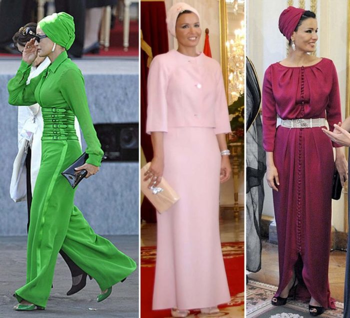 Шейха Моза - вторая из трёх жен 3-го эмира Катара шейха Хамада бен Калифа-аль-Тани, политический и общественный деятель. Известна своими туалетами и коллекцией драгоценностей.