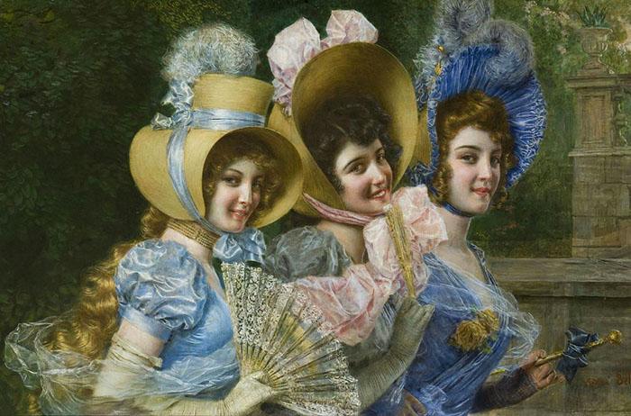 Мода прошлых веков была гораздо богаче на милые мелочи, которые составляли существенную часть женского образа