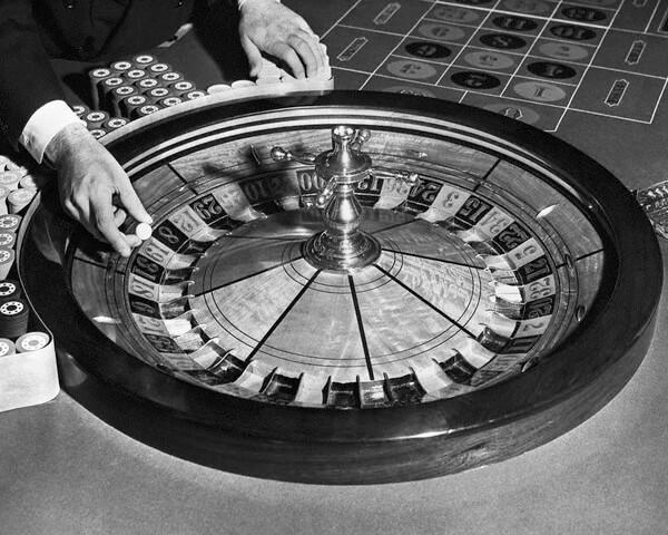 Рулетка - любимая азартная игра Ф. Достоевского.