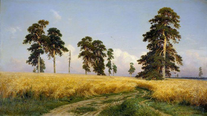 """""""Рожь"""", 1878г."""