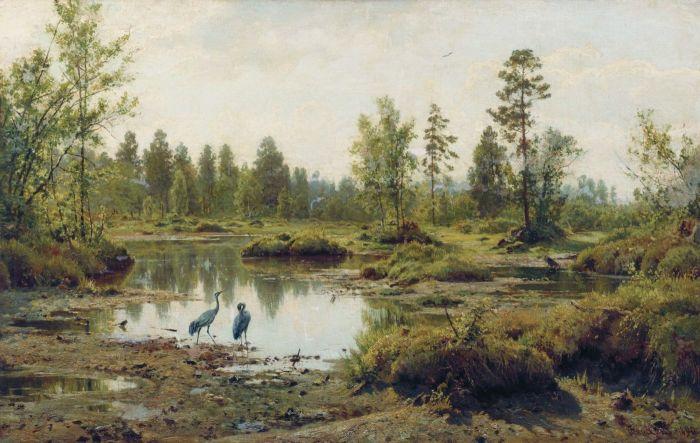"""""""Болото. Полесье"""", 1890г."""