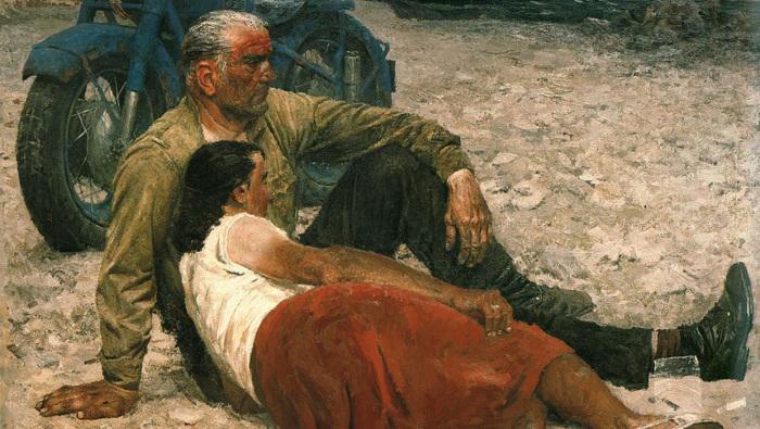 """""""Влюбленные""""1959г. Государственный Русский музей"""