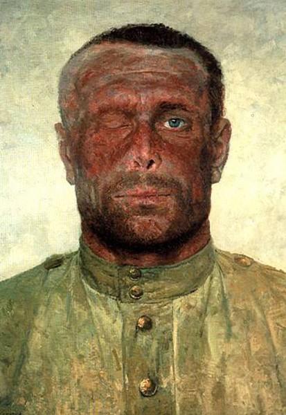 """""""Следы войны""""1963–1964гг. Государственный Русский музей"""