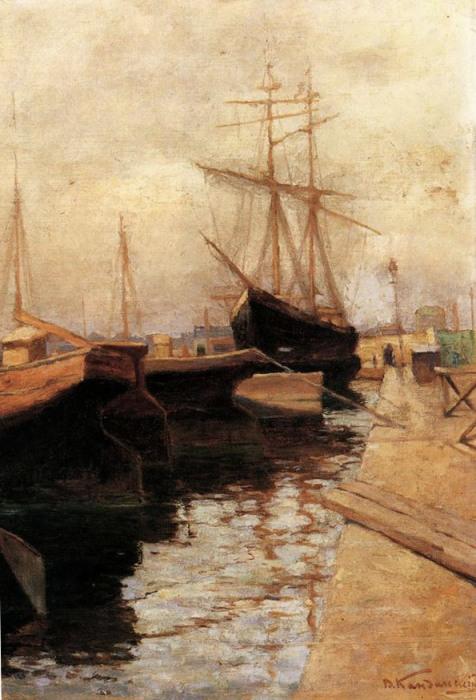 """""""Одесса. Порт"""", 1898г."""