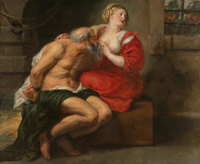 Кимон и Перо. 1630г.