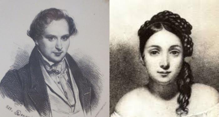 Виктор Гюго и Жюльетта Друэ.