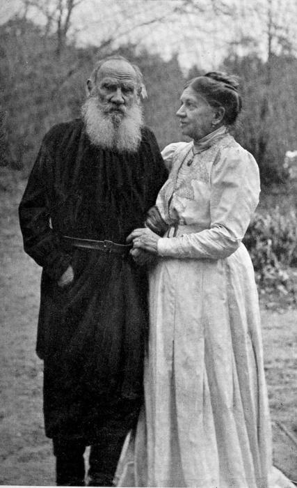 Лев и Софья Толстые