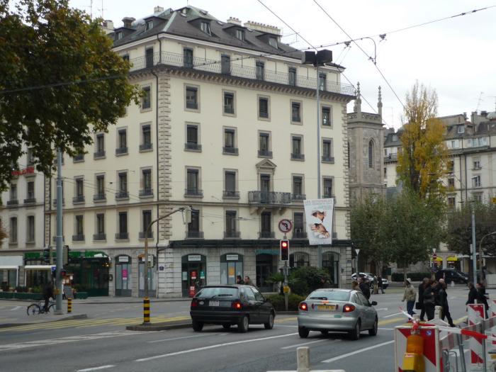 Дом, в котором Достоевские снимали квартиру в Женеве (фото: Nashagazeta.ch)