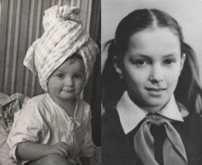 """Мария Порошина в детстве, фото """"Блок КИНОМИР"""""""