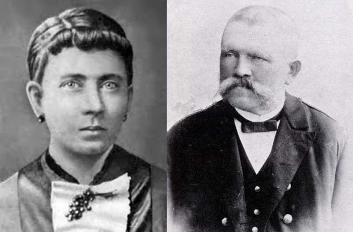 Клара Гитлер и Алоис Гитлер