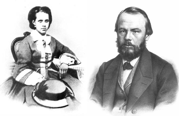 Анна и Фёдор Достоевские