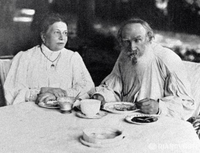 Софья и Лев Толстые