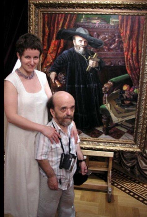 Владимир Фёдоров с женой Верой. / Фото: www.twimg.com
