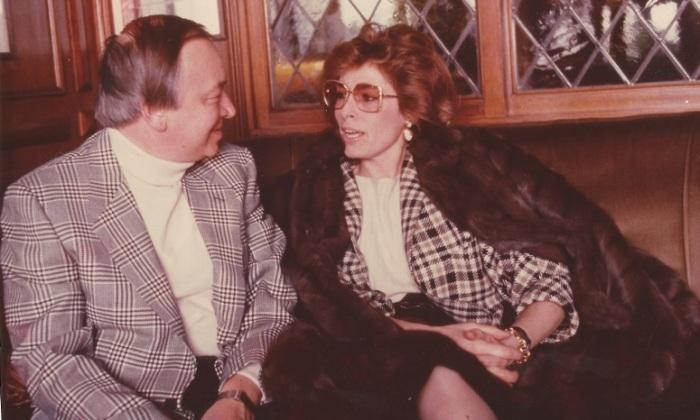 Мариолина Дориа Де Дзулиани и Андрей Вознесенский. / Фото: www.story.ru