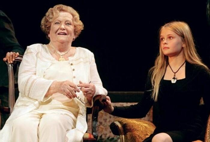 Велта Лине с внучкой. / Фото: www.jauns.lv