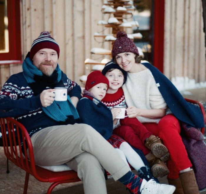 Елизавета Соломина с мужем и детьми. / Фото: www.instagram.com/solomina_elizaveta
