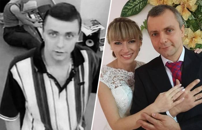Анатолий Патлан во время шоу и после него с женой.