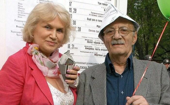 Галина и Георгий Данелия. / Фото: www.youtube.com