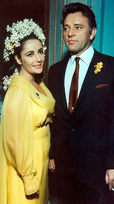 Ричард Бёртон и Элизабет Тейлор. / Фото: www.weddbook.me