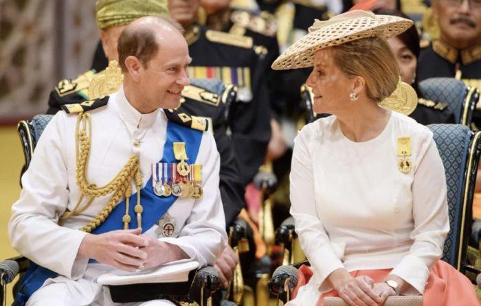 Принц Эдвард и Софи Рис-Джонс. / Фото: www.newsroyals.ru
