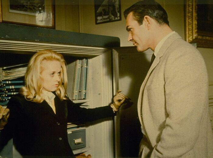 Кадр из фильма «Марни». / Фото: www.kinopoisk.ru