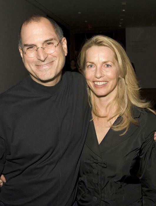 Стив Джобс и Лорен Пауэлл. / Фото: www.businessman.ru