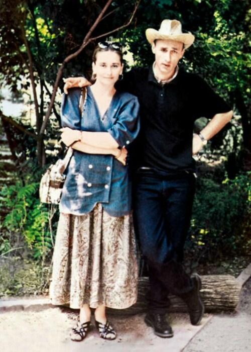 Ия Нинидзе и её любимый Лидо. / Фото: www.7days.ru