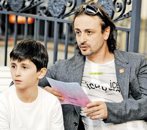 Илья Авербух с сыном. / Фото: www.teleprogramma.pro