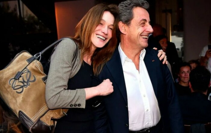 Николя Саркози и Карла Бруни. / Фото: www.yandex.net