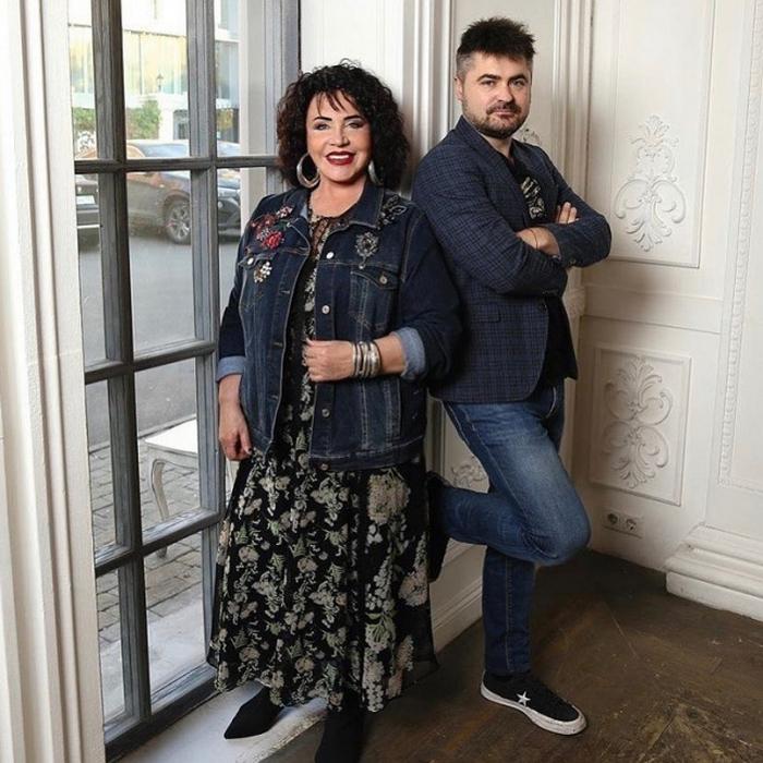 Надежда Бабкина и Евгений Гор. / Фото: www.top100ru.com
