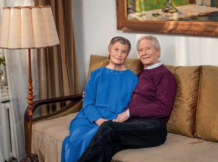 Геннадий и Лидия Юхтины. / Фото: www.blogspot.com